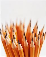 Close-up of Bunch of Sharpened Pencils    Stock Photo - Premium Rights-Managednull, Code: 700-00053729