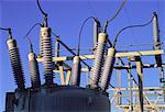 Close-Up of Power Station Calgary, Alberta, Canada    Stock Photo - Premium Rights-Managed, Artist: Gloria H. Chomica, Code: 700-00057269