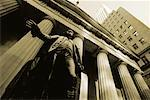 Looking Up at Statue and Columns Federal Hall National Monument New York, New York, USA    Stock Photo - Premium Rights-Managed, Artist: Damir Frkovic, Code: 700-00057312