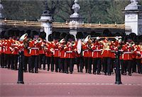 Changing of the Guard, Buckingham Palace, London, England    Stock Photo - Premium Rights-Managednull, Code: 700-00060653