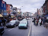 People Walking on Busy Street Camden Town, London, England    Stock Photo - Premium Rights-Managednull, Code: 700-00061132