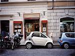 Smart Car Parked on Street Rome, Italy    Stock Photo - Premium Rights-Managed, Artist: Philip Rostron, Code: 700-00062249