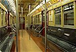 Interior of Empty Subway Car New York, New York, USA    Stock Photo - Premium Rights-Managed, Artist: Roy Ooms, Code: 700-00062382