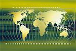 World Map    Stock Photo - Premium Rights-Managed, Artist: Wei Yan, Code: 700-00063166