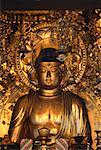 Golden Buddha in Chion-In Temple Kyoto, Japan    Stock Photo - Premium Rights-Managed, Artist: Ron Stroud, Code: 700-00065220