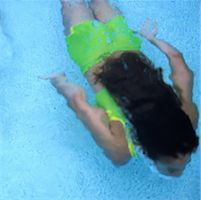 Girl Swimming in Pool    Stock Photo - Premium Rights-Managednull, Code: 700-00066837