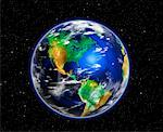Globe North and South America    Stock Photo - Premium Rights-Managed, Artist: Rick Fischer, Code: 700-00067174