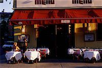 restaurant new york manhattan - Outdoor Cafe, Meat Packing District, New York, New York, USA    Stock Photo - Premium Rights-Managednull, Code: 700-00069365