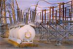 Electrical Substation British Columbia, Canada    Stock Photo - Premium Rights-Managed, Artist: Andrew Wenzel, Code: 700-00070333