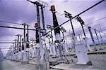 Electrical Substation British Columbia, Canada    Stock Photo - Premium Rights-Managed, Artist: Andrew Wenzel, Code: 700-00070335