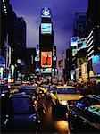 Traffic in Times Square at Night New York, New York, USA    Stock Photo - Premium Rights-Managed, Artist: Philip Rostron, Code: 700-00070681
