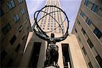 Atlas Statue at Rockefeller Center, New York, New York, USA    Stock Photo - Premium Rights-Managed, Artist: Gail Mooney, Code: 700-00071041