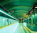 Subway Station Interior Toronto, Ontario, Canada    Stock Photo - Premium Rights-Managed, Artist: Michael Mahovlich, Code: 700-00071611