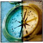 Close-Up of Compass    Stock Photo - Premium Rights-Managed, Artist: Tom Collicott, Code: 700-00072087
