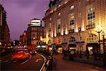 Piccadilly Circus at Dusk London, England    Stock Photo - Premium Rights-Managed, Artist: Gail Mooney, Code: 700-00072145