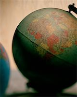 Two Globes    Stock Photo - Premium Rights-Managednull, Code: 700-00072409