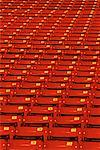 Rows of Empty Stadium Seats    Stock Photo - Premium Rights-Managed, Artist: Gloria H. Chomica, Code: 700-00073505