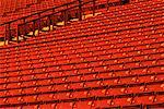 Rows of Empty Stadium Seats    Stock Photo - Premium Rights-Managed, Artist: Gloria H. Chomica, Code: 700-00073507