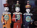 Three Chinese Figurines, Shanghai, China    Stock Photo - Premium Rights-Managed, Artist: Wei Yan, Code: 700-00074287