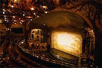 Interior of Winter Garden Theatre, Toronto, Ontario, Canada    Stock Photo - Premium Rights-Managednull, Code: 700-00074420