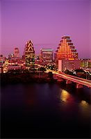 Cityscape and Harbor at Dusk Austin, Texas, USA    Stock Photo - Premium Rights-Managednull, Code: 700-00076919