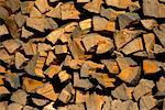 Close-Up of Cut Wood in Pile Salzburg, Austria    Stock Photo - Premium Rights-Managed, Artist: Bryan Reinhart, Code: 700-00076964