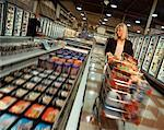 Woman Grocery Shopping    Stock Photo - Premium Rights-Managed, Artist: Brian Pieters, Code: 700-00077437