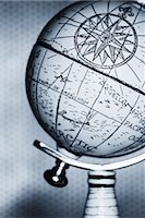 Antique Globe    Stock Photo - Premium Rights-Managednull, Code: 700-00078179