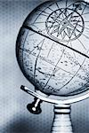 Antique Globe    Stock Photo - Premium Rights-Managed, Artist: David Muir, Code: 700-00078179