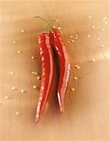 Close-Up of Chili Peppers    Stock Photo - Premium Rights-Managednull, Code: 700-00078476