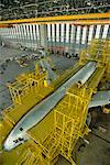 Interior of Airplane Maintenance Facility, Jakarta, Indonesia    Stock Photo - Premium Rights-Managed, Artist: R. Ian Lloyd, Code: 700-00078627
