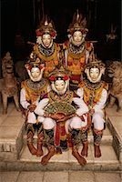 Portrait of Masked Dancers Bali, Indonesia    Stock Photo - Premium Rights-Managednull, Code: 700-00079482