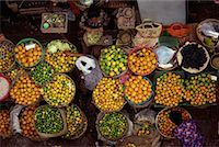 Overhead View of Women in Fruit Market in Denpasar's Central Marketplace, Bali, Indonesia    Stock Photo - Premium Rights-Managednull, Code: 700-00079493