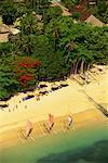 Aerial View of Sanur Beach Resort Bali, Indonesia    Stock Photo - Premium Rights-Managed, Artist: R. Ian Lloyd, Code: 700-00079520