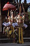 Gambuh Operatic Troupe Performing Batuan, Bali, Indonesia
