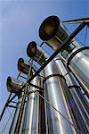 Looking Up at Industrial Pipes And Sky Stock Photo - Premium Rights-Managed, Artist: David Mendelsohn, Code: 700-00081541