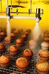 Quick Freezing of Muffins at Commercial Bakery    Stock Photo - Premium Rights-Managed, Artist: David Mendelsohn, Code: 700-00082658