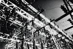Close-Up of Electrical Sub Station    Stock Photo - Premium Rights-Managed, Artist: David Mendelsohn, Code: 700-00083061