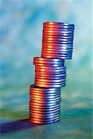 Stack of American Pennies    Stock Photo - Premium Rights-Managednull, Code: 700-00083923