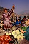 People at Sunday Market Wangdue Phodrang, Bhutan    Stock Photo - Premium Rights-Managed, Artist: R. Ian Lloyd, Code: 700-00085143