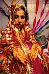 Portrait of Woman at Muslim Wedding, Port Blair Andaman Islands, India
