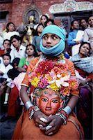 Dance of Ashta Matrikas at Patan's Krishna Mandir Temple Kathmandu Valley, Nepal    Stock Photo - Premium Rights-Managednull, Code: 700-00086647