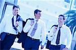 Businessmen Walking    Stock Photo - Premium Rights-Managed, Artist: Kevin Dodge, Code: 700-00087355