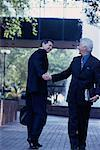 Businessmen Shaking Hands    Stock Photo - Premium Rights-Managed, Artist: Kevin Dodge, Code: 700-00087473