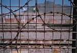 Razor Wire Fence Cape Town, South Africa    Stock Photo - Premium Rights-Managed, Artist: George Simhoni, Code: 700-00088132