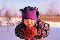Child in Snowsuit    Stock Photo - Premium Royalty-Freenull, Code: 600-00091787