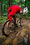Mountain Biking    Stock Photo - Premium Rights-Managed, Artist: Peter Griffith, Code: 700-00091955