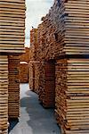 Stacks of Lumber    Stock Photo - Premium Rights-Managed, Artist: Pierre Tremblay, Code: 700-00093591