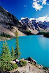 Lake Moraine Alberta, Canada    Stock Photo - Premium Rights-Managed, Artist: Pierre Tremblay, Code: 700-00093599