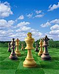 Chess Game    Stock Photo - Premium Rights-Managed, Artist: Nora Good, Code: 700-00094610